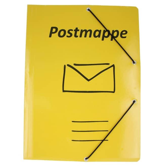 Mica College - Postmappe - Eckspanner DIN A4 - in gelb