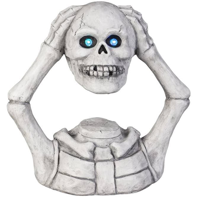 LED-Skelett - aus Magnesia - 44,5 x 21,5 x 43,5 cm