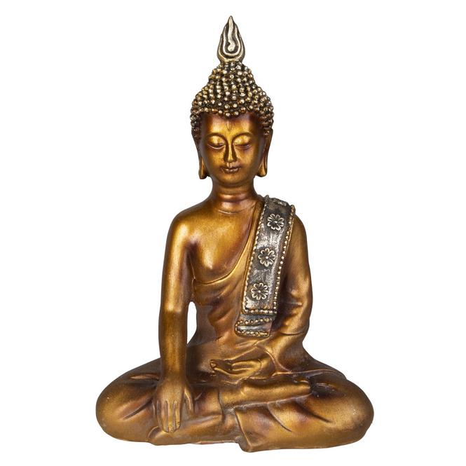 Buddha - aus Polyresin - ca. 17 x 10 x 24 cm
