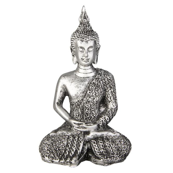 Buddha - aus Polyresin - ca. 5,5 x 8 x 12,5 cm