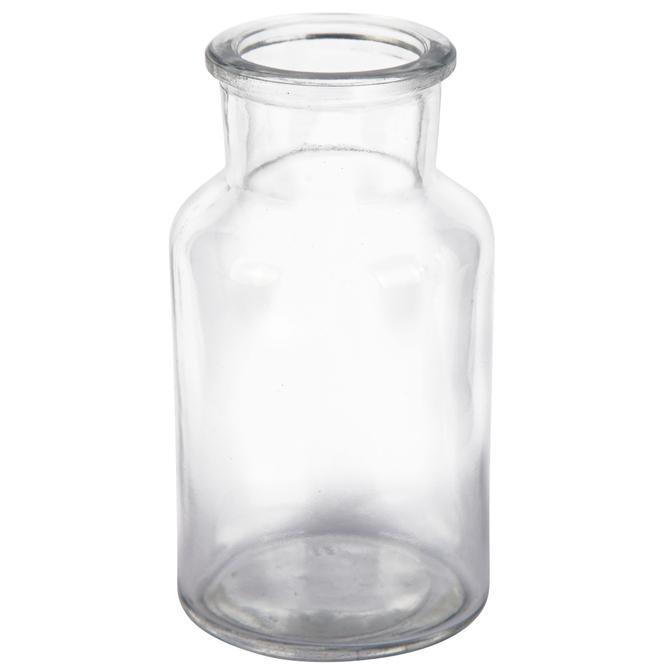 Vase - aus Glas - 6,5 x 12,5 cm