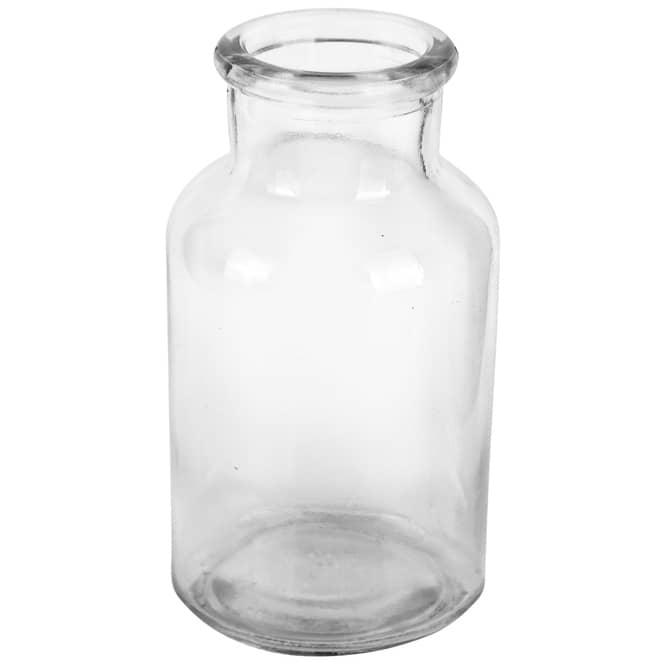 Vase - aus Glas - 5,5 x 10,5 cm