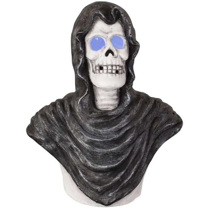 LED-Skelett - aus Magnesia - 28,5 x 18,5 x 35 cm