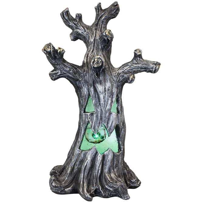 LED-Baum - aus Magnesia - ca. 35,5 x 28,5 x 60,5 cm