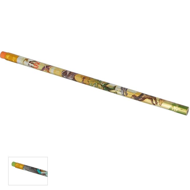 Bleistift mit Radierer - Dinosaurier - 1 Stück