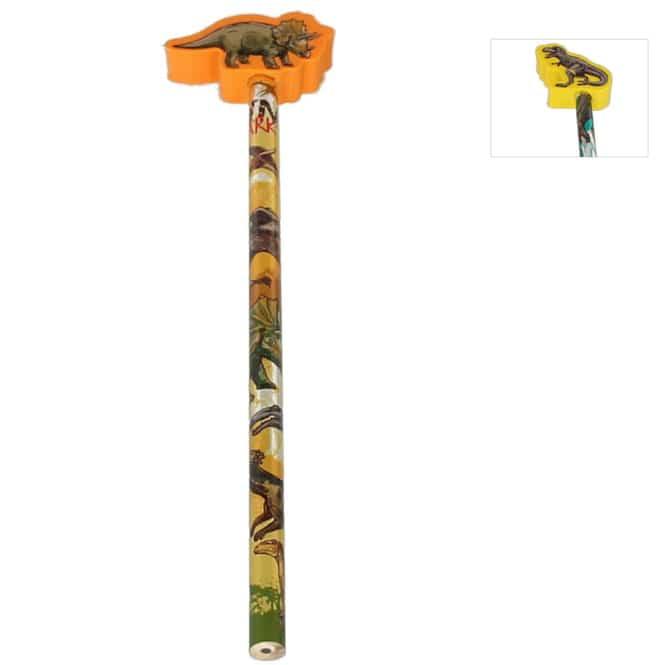 Bleistift mit Radierertopper - Dinosaurier - 1 Stück