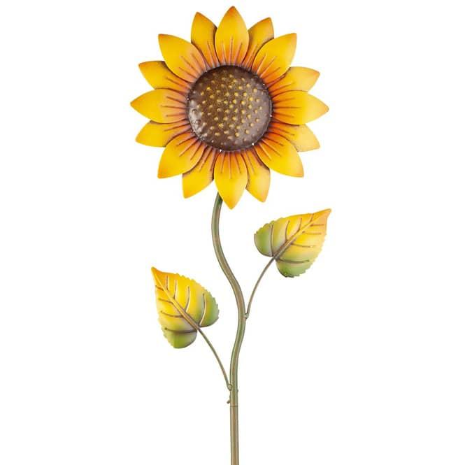 Pflanzenstecker - Sonnenblume - ca. 24 x 3 x 102,5 cm