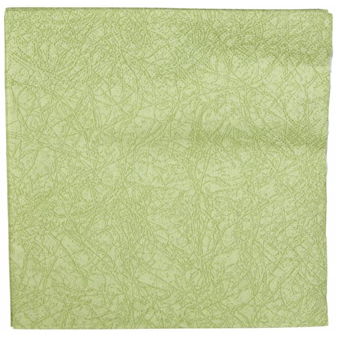 20 Servietten - grün - 33 x 33 cm