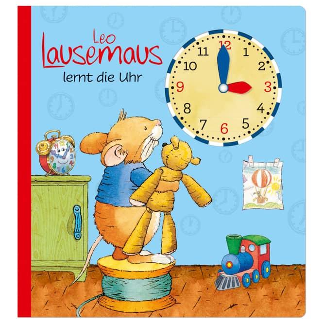 Leo Lausemaus lernt die Uhr