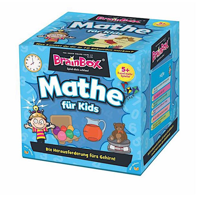 Lernspiel - Mathe für Kids - Brain Box