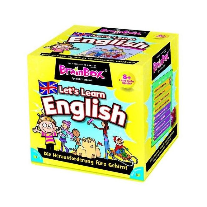 Lernspiel - Let's learn English