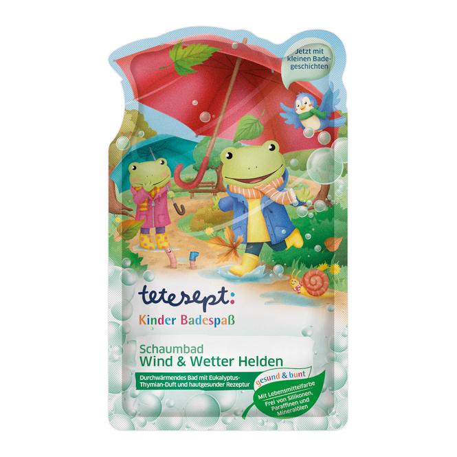 Tetesept - Schaumbad Wind & Wetter - Helden