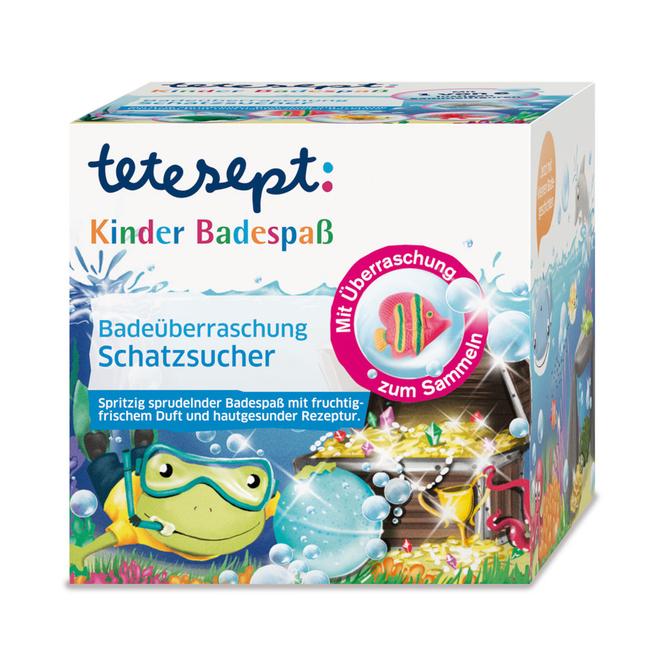 Tetesept - Badeüberraschung - Schatzsucher