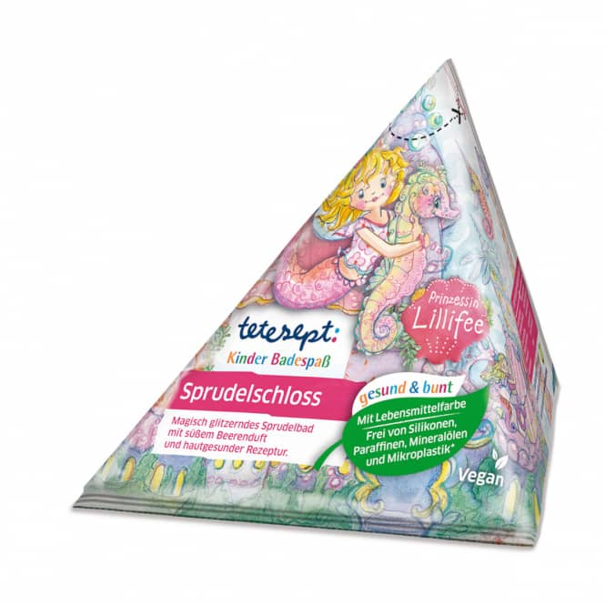 Tetesept - Sprudelschloss - Prinzessin Lillifee