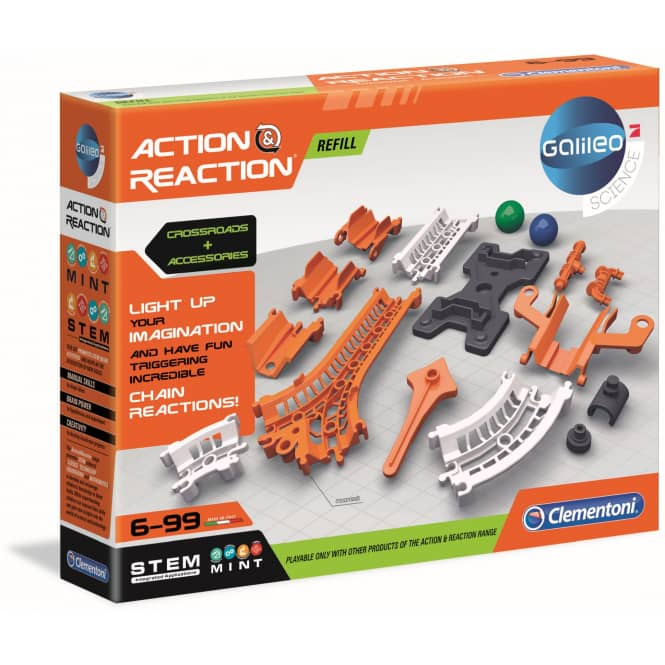 Galileo - Action & Reaction - Kreuzungen & Übergänge - Clementoni
