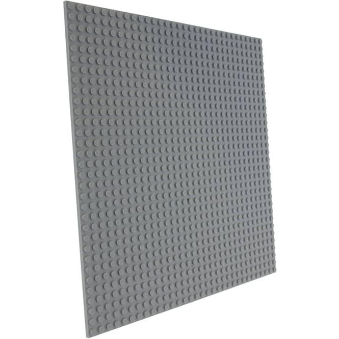 Besttoy - Bauplatte - 25,5 x 25,5 cm - grau