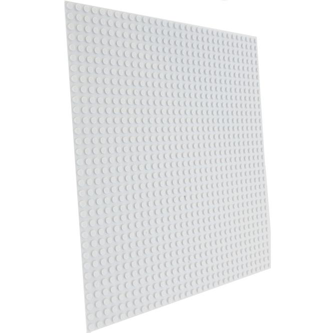 Besttoy - Bauplatte - 25,5 x 25,5 cm - hellgrau