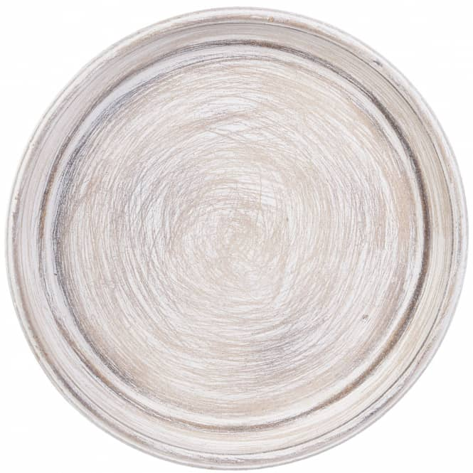 Dekoteller - aus Holz - Ø = ca. 33 cm