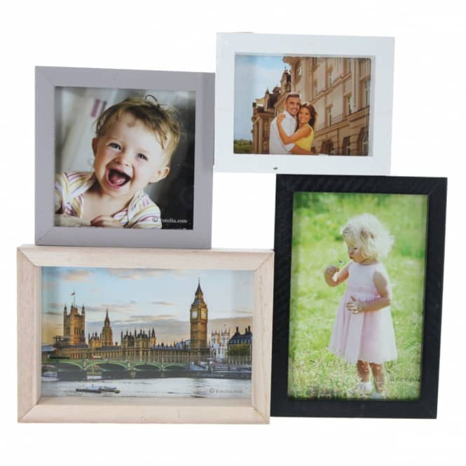 Bildergalerie - aus Holz - 28 x 2,5 x 25 cm
