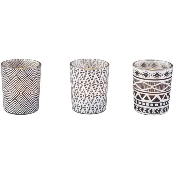 Teelichtglas - 5,5 x 5,5 x 6,5 cm - 1 Stück