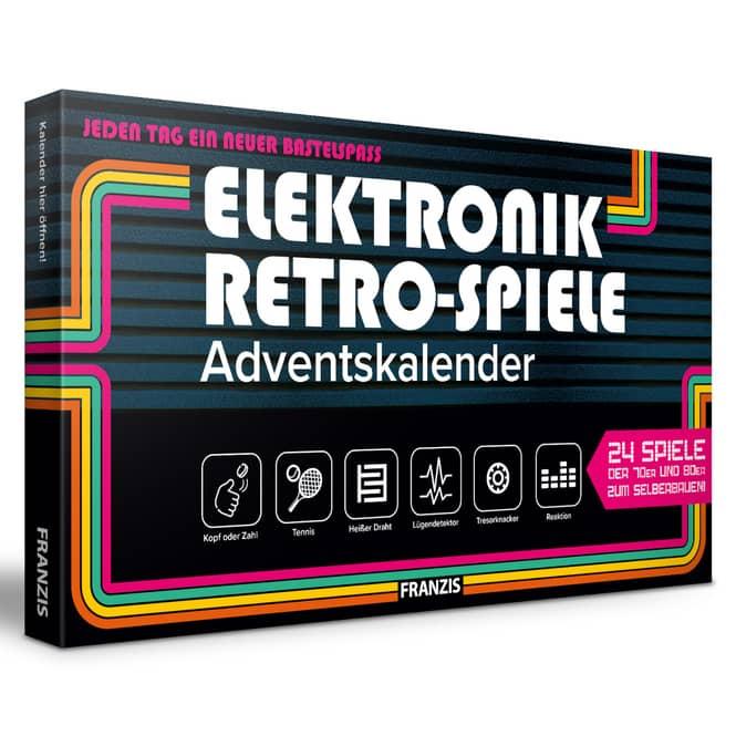 Adventskalender - Elektronik Retro-Spiele