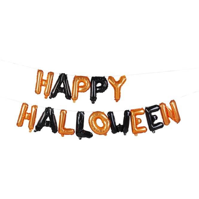 Folienballon - Happy Halloween - 40 cm