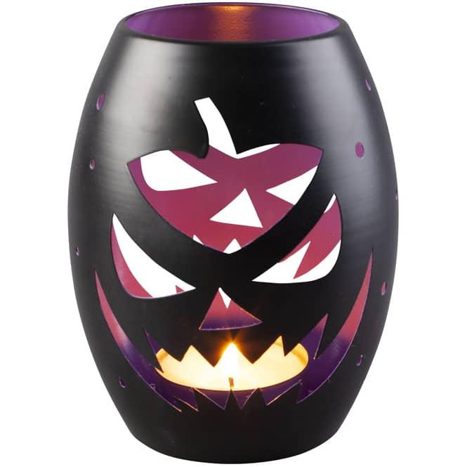 Windlicht - Halloween - 12 x 12 x 15,5 cm