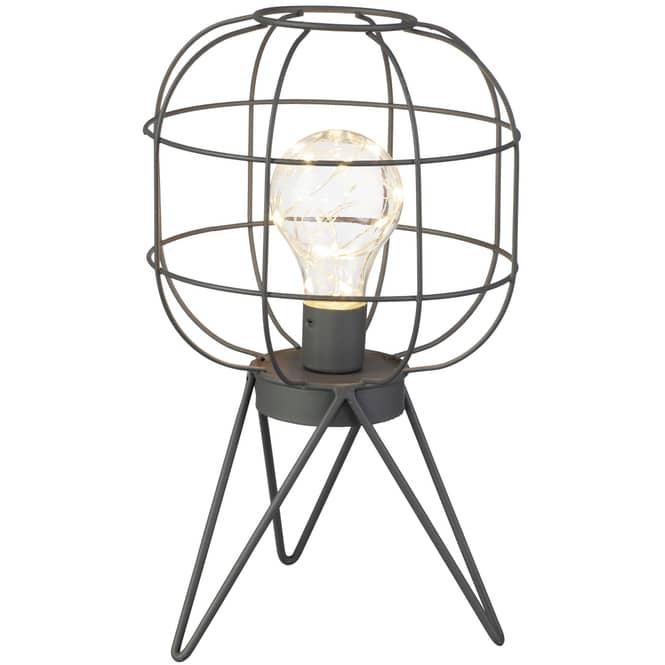 LED-Lampe - ca. 16 x 16 x 27,5 cm