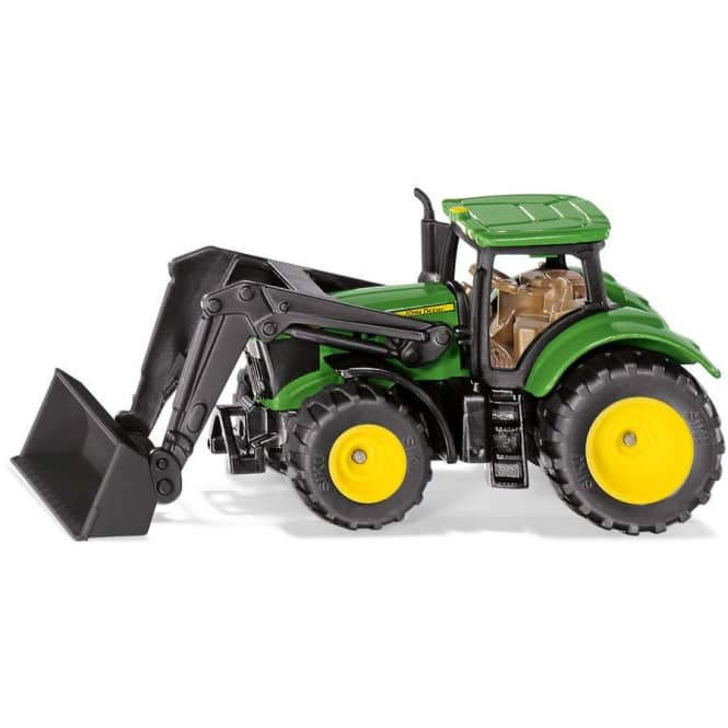 Siku Super Farmer 1395 - Traktor John Deere mit Frontlader 1:76