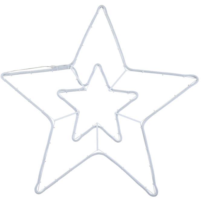 LED-Stern - 79 x 76 cm