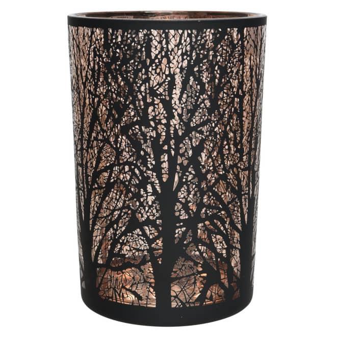 Teelichtglas - Baum - ca. 12 x 18 cm
