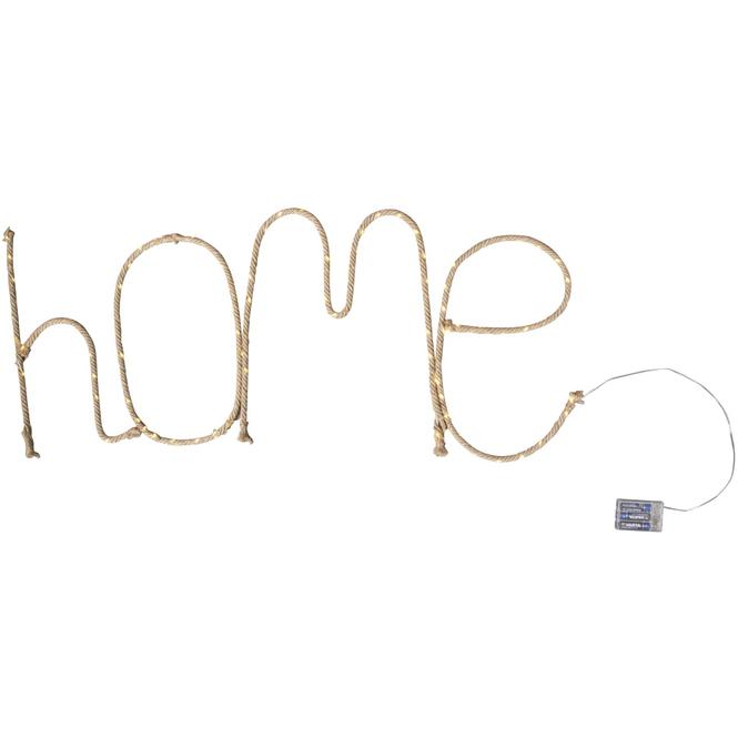 LED-Schriftzug - Home - 97 x 42 cm
