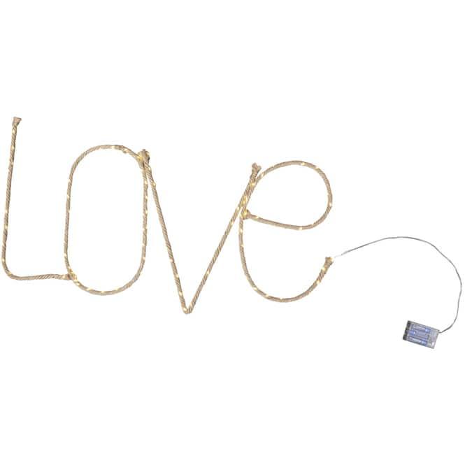 LED-Schriftzug - Love - 97 x 42 cm