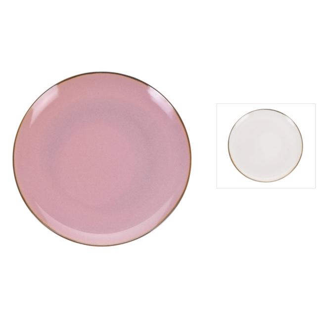Teller -  aus Porzellan - Ø = ca. 26,5 cm - 1 Stück