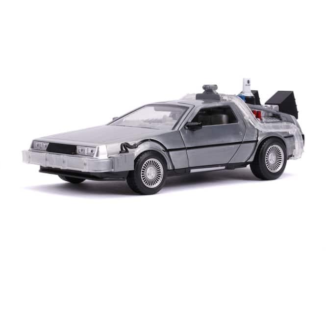 Jada - DeLorean Zeitmaschine - Maßstab 1:24 - Replikat aus Zurück in die Zukunft 2