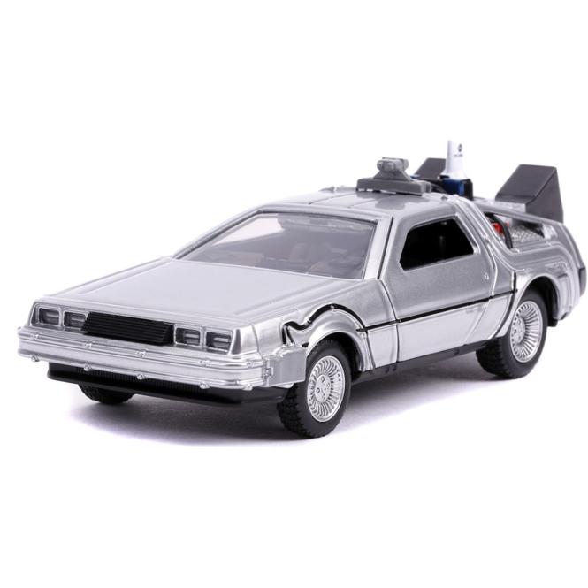 Jada - DeLorean Zeitmaschine - Maßstab 1:32 - Replikat aus Zurück in die Zukunft 2