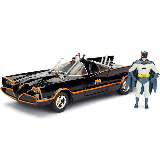 Jada - Classic Batmobil 1966 mit Batman-Figur - 1:24