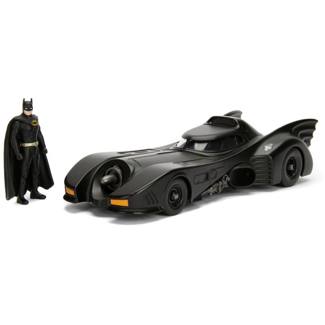 Jada - Batmobil 1989 mit Batman-Figur - 1:24