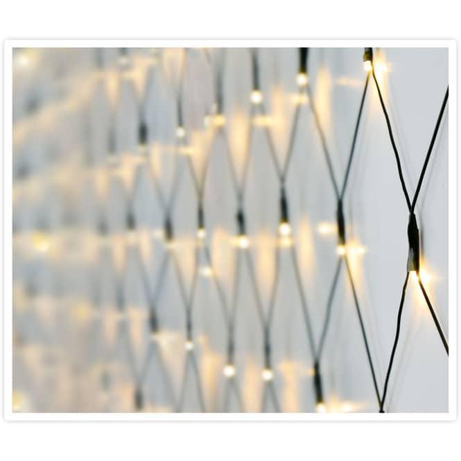 160er LED-Lichternetz - ca. 200 x 100 cm