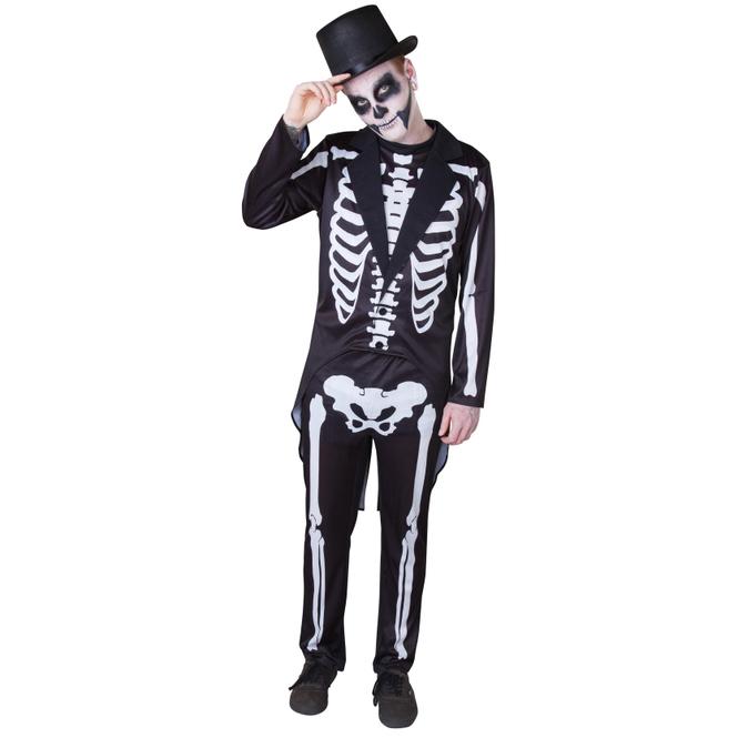 Kostüm - Day of the dead - für Erwachsene - 2-teilig