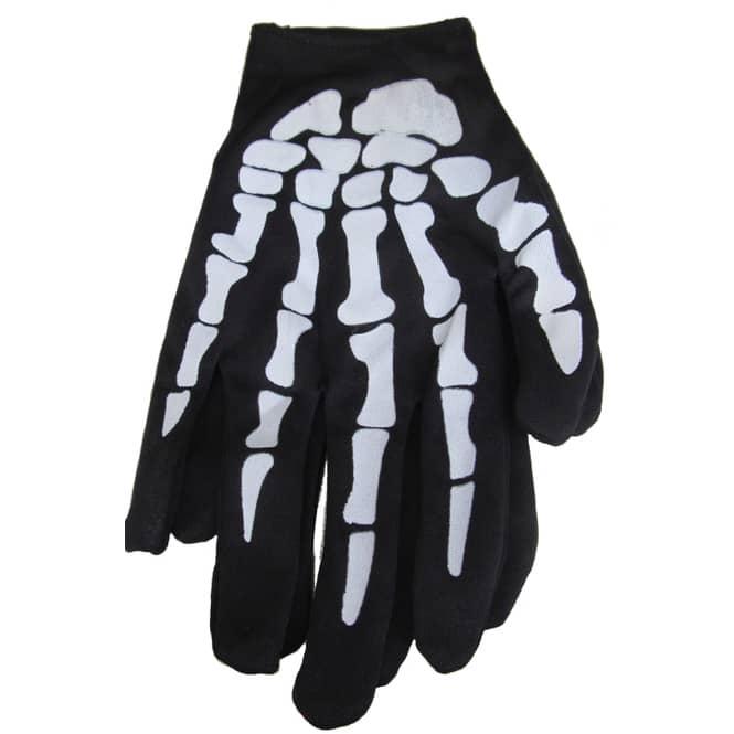 Skelett-Handschuhe - für Kinder - 1 Paar