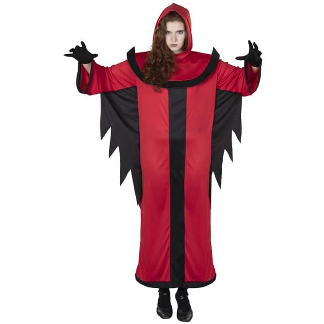Kostüm - Teufel - für Erwachsene - 3-teilig - Größe 56/58