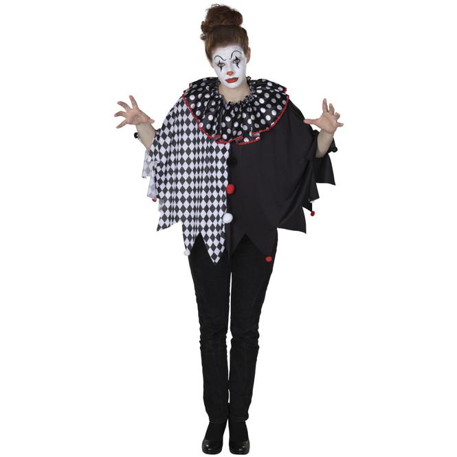 Kostüm - Clown - für Erwachsene - Einheitsgröße