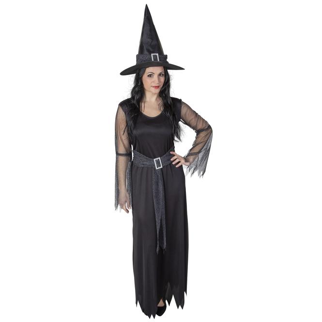 Kostüm - Hexenlady - für Erwachsene - 2-teilig - Größe 44/46