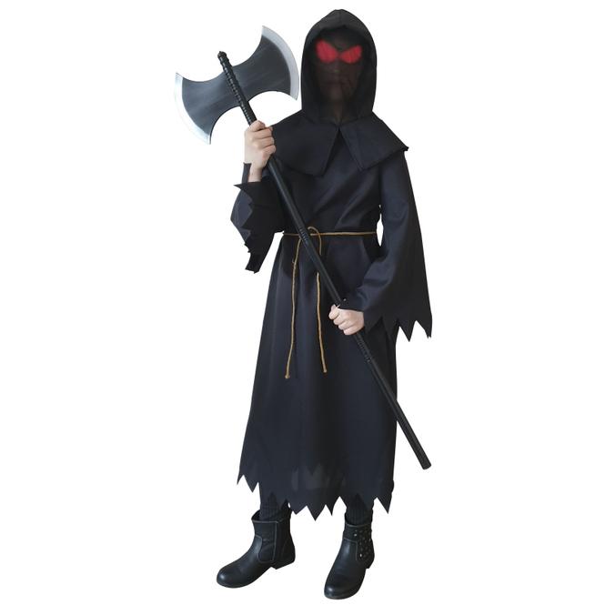 Kostüm - Dämonjunge - für Kinder - 3-teilig - Größe 134/140