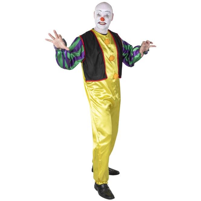Kostüm - Böser Clown - für Erwachsene - 2-teilig - verschiedene Größen