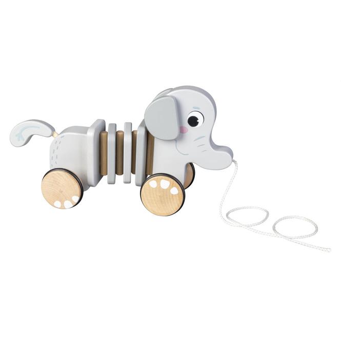 Besttoy - Nachziehtier - Elefant