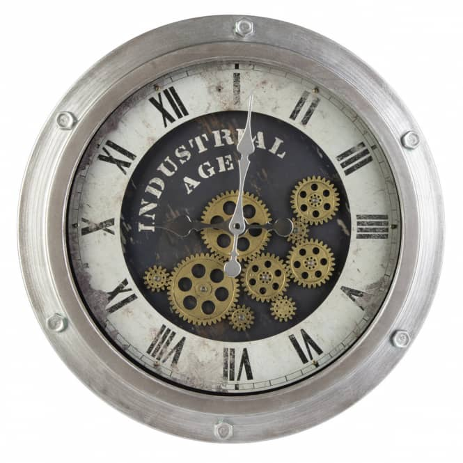 Wanduhr - Industrial - Ø = ca. 46 cm
