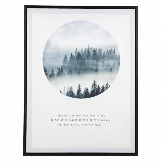 Canvasbild - Wald - ca. 45 x 60 x 3 cm