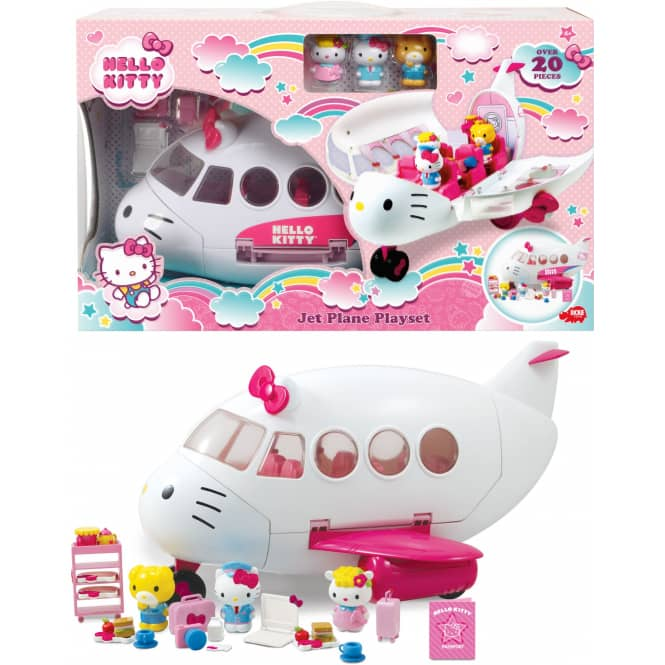 Hello Kitty - Flugzeug Spielset - Dickie